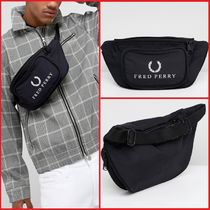 FRED PERRY(フレッドペリー) ショルダーバッグ FRED PERRY★90sロゴ ウエストバッグ 送関込