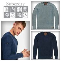 送料関税込◆Superdry Garment Dye L.A.Textured Crew◆4色