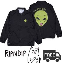 RIPNDIP リップンディップ We Out Here Coaches Jacket