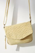 Anthropologie☆Nelly Perforated Crossbody Bag