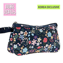 LeSportsac★SMALL KOKO in FLORET NAVY★韓国限定プリント