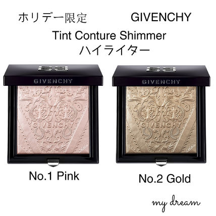 GIVENCHY フェイスパウダー ホリデー限定★GIVENCHY★ハイライター★Teint Couture Shimmer