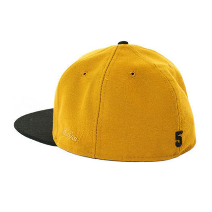 1a416780c00 ... FEAR OF GOD キャップ  FEAR OF GOD  New Era Fitted Cap   GOLD( ...