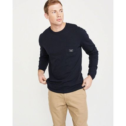Abercrombie & Fitch Tシャツ・カットソー Abercrombie & Fitch(アバクロ)バックロゴ長袖Tシャツ(2)