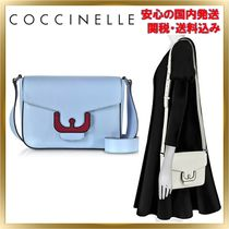 COCCINELLE(コチネレ) ショルダーバッグ・ポシェット ◇COCCINELLE◇Ambrine Leather Crossbody Bag 【関税送料込】