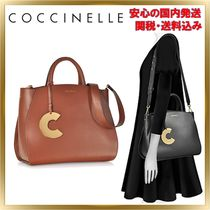COCCINELLE(コチネレ) トートバッグ ◇COCCINELLE◇Concrete top Handles Tote Bag 【関税送料込】