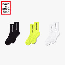 have a good time(ハブアグットタイム) 靴下・ソックス ★have a good time★ SIDE LOGO SOCKS