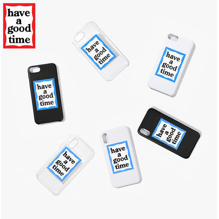 have a good time スマホケース・テックアクセサリー ★have a good time★ BLUE FRAME IPHONE CASE