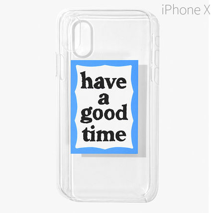 have a good time スマホケース・テックアクセサリー ★have a good time★ BLUE FRAME IPHONE CASE(2)