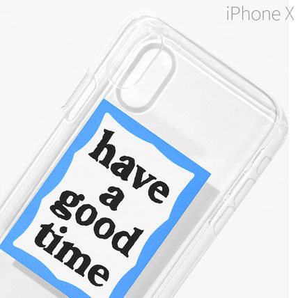 have a good time スマホケース・テックアクセサリー ★have a good time★ BLUE FRAME IPHONE CASE(4)