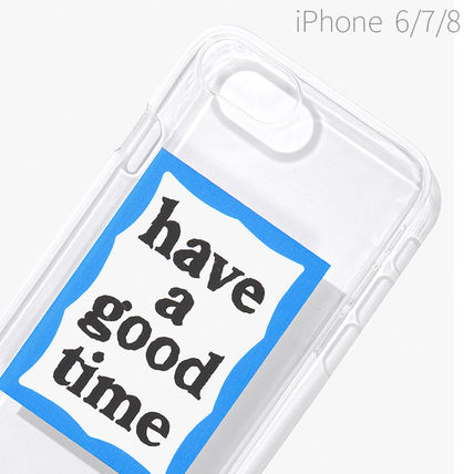 have a good time スマホケース・テックアクセサリー ★have a good time★ BLUE FRAME IPHONE CASE(7)