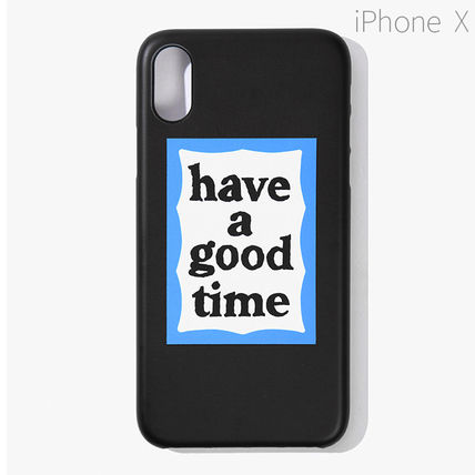 have a good time スマホケース・テックアクセサリー ★have a good time★ BLUE FRAME IPHONE CASE(8)