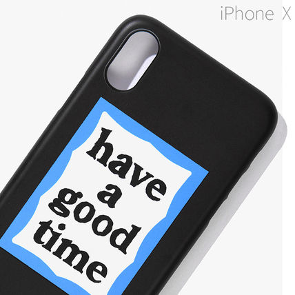 have a good time スマホケース・テックアクセサリー ★have a good time★ BLUE FRAME IPHONE CASE(10)