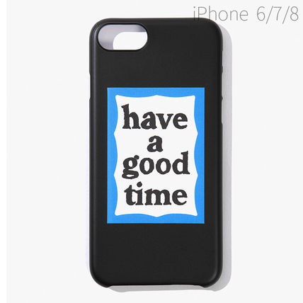 have a good time スマホケース・テックアクセサリー ★have a good time★ BLUE FRAME IPHONE CASE(11)