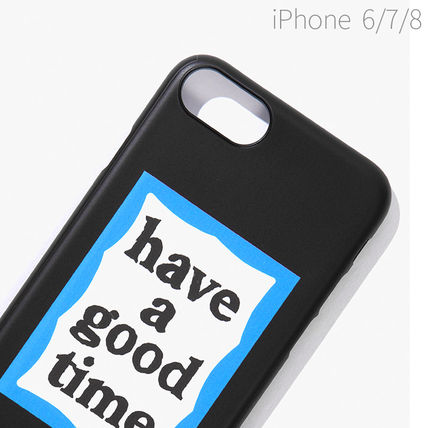 have a good time スマホケース・テックアクセサリー ★have a good time★ BLUE FRAME IPHONE CASE(13)