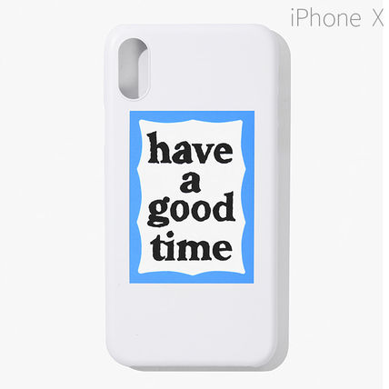 have a good time スマホケース・テックアクセサリー ★have a good time★ BLUE FRAME IPHONE CASE(14)