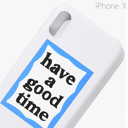 have a good time スマホケース・テックアクセサリー ★have a good time★ BLUE FRAME IPHONE CASE(16)