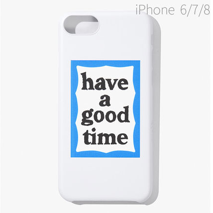 have a good time スマホケース・テックアクセサリー ★have a good time★ BLUE FRAME IPHONE CASE(17)