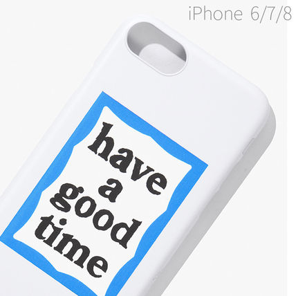 have a good time スマホケース・テックアクセサリー ★have a good time★ BLUE FRAME IPHONE CASE(19)