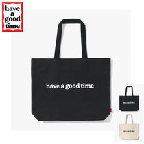 have a good time(ハブアグットタイム) トートバッグ ★have a good time★ SIDE LOGO TOTE BAG