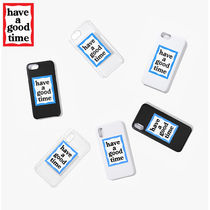 ★have a good time★ BLUE FRAME IPHONE CASE