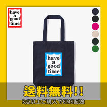★have a good time★ BLUE FRAME TOTE