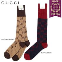 【正規品保証】GUCCI★18秋冬★GG SUPREME COTTON BLEND SOCKS