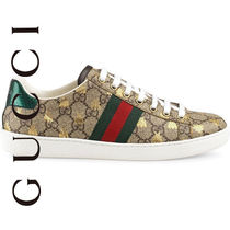 SALE 即日発送 GUCCI SNEAKERS GG PRINT EMBROIDERED