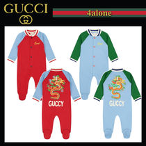 GUCCI☆BABY☆*EXCLUSIVE*  GUCCYロゴ ドラゴンベビーグロー
