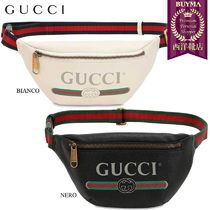 【正規品保証】GUCCI★19春夏★SMALL VINTAGE LEATHER BELT BAG