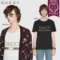 【正規品保証】GUCCI★19春夏★LOGO COTTON JERSEY T-SHIRT