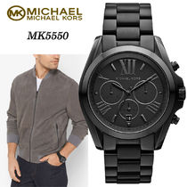 激安価格!Michael Kors Bradshaw Watch 黒 ユニセ mk5550