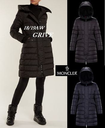 18/19AW【MONCLER】フェミニン♪美シルエットダウン☆GRIVE