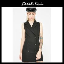関税/送料込 *DOLLS KILL*BUSINESS PLAN BLAZER DRESS