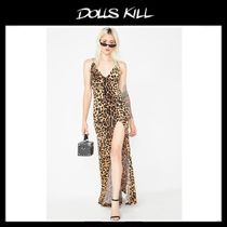 関税/送料込 *DOLLS KILL*FURIOUSLY FIERCE LEOPARD DRESS
