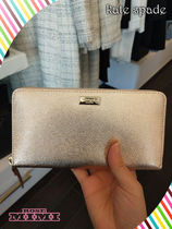 長財布☆Kate spade ★neda laurel way★ローズゴールドが綺麗