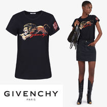 【GIVENCHY】2019新作!レオプリント フィット Tシャツ
