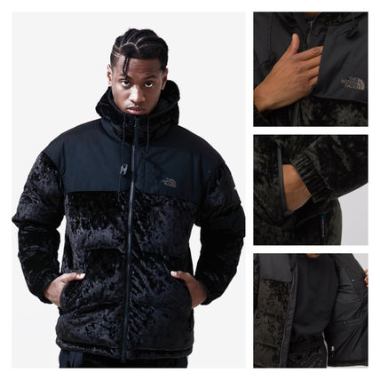 THE NORTH FACE アウターその他 完売必須!!The North Face Black Label Velvet Nuptse Jacket