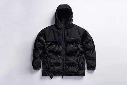 THE NORTH FACE アウターその他 完売必須!!The North Face Black Label Velvet Nuptse Jacket (2)