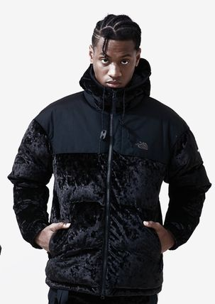 THE NORTH FACE アウターその他 完売必須!!The North Face Black Label Velvet Nuptse Jacket (7)