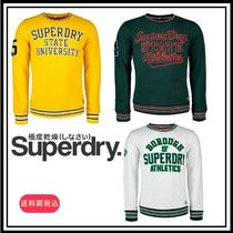 売切必須★送料関税込Superdry Academy Tipped Applique Crew3色