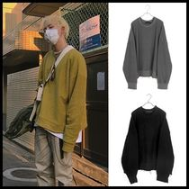 ☆RAUCOHOUSE☆ スウェットシャツ GR over reverse sweat shirts