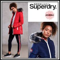 売切必須★送料関税込Superdry Streetwear Tall RepeatPuffer2色