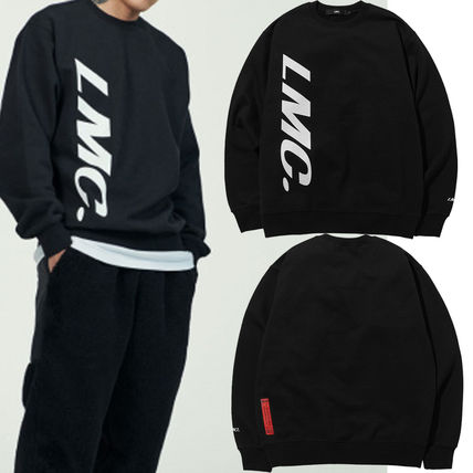日本未入荷 LMC RED LABEL VERTICAL SPORT LOGO SWEATSHIRTblack