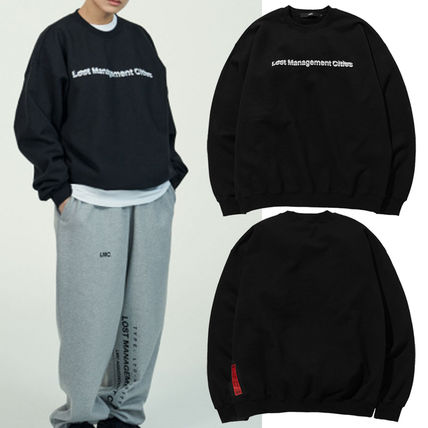 日本未入荷★大人気★LMC RED LABEL 3D FN LOGO SWEATSHIRTblack