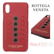 先取り★Intrecciato/Eyelet【送込Bottega Veneta】iphone X★赤