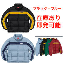 Supreme Stripe Panel Down Jacket ダウンジャケット AW18 W13