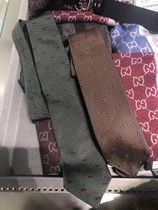 グッチ 349398 / GUCCI INTEROCKING SILK NECKTIE