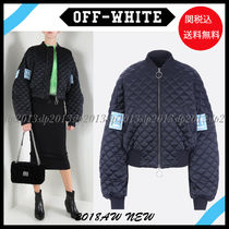 19New■Off-White■Oversize キルティングMa-1 Black☆関税込