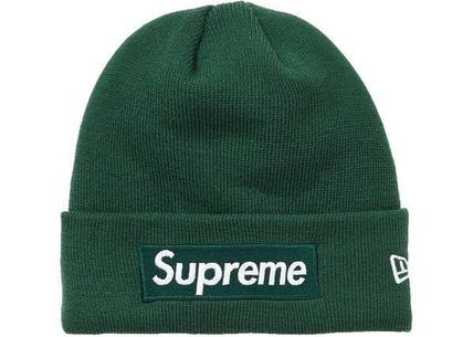 Supreme ニットキャップ・ビーニー Supreme シュプリーム  New Era Box Logo Beanie 18 FW  WEEK 12(4)